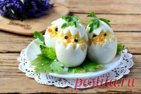 12 восхитительных идей для закусок из яиц. СКОРО ПАСХА, ГОТОВИМСЯ.