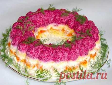 Селедка под шубой по классическим рецептам - 7 салатов Под шубой с яйцом и яблоком