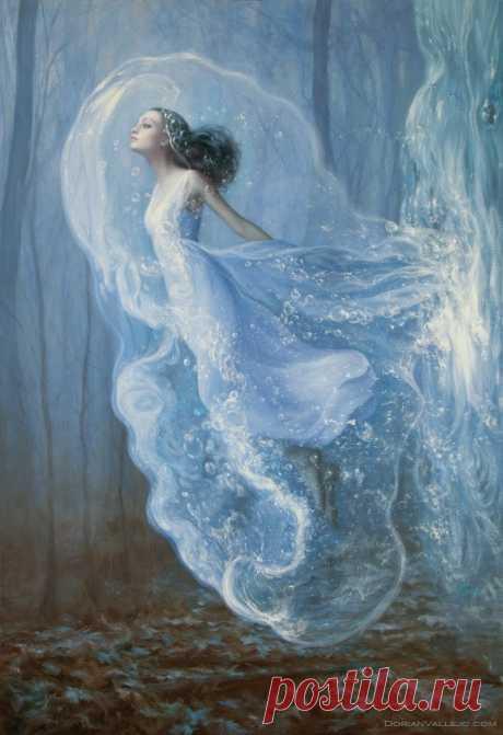 ----------------Художник Dorian Vallejo  \ Полеты во сне и наяву------------ Зачем-то люди иногда мечтают Под звездопад, сорвавшийся в траву; Зачем-то люди иногда летают: Одни - во сне, другие – наяву... Фима Веников