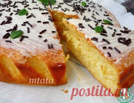 Пирог простой творожный – кулинарный рецепт