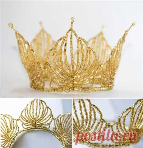 Crown for the little princess | Boasters and hvastushka