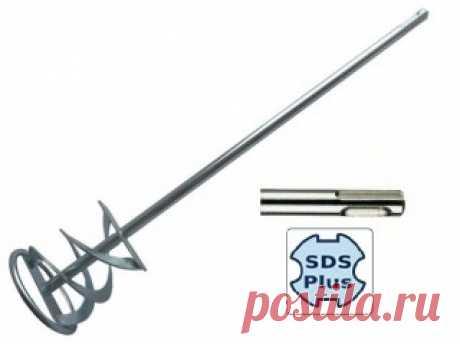 Венчик для строительного миксера SDS plus 120х600