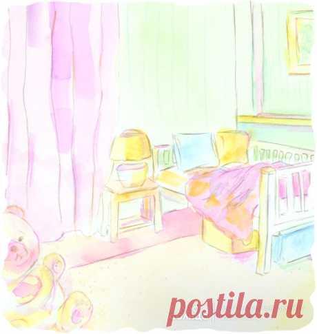 Детская комната | Акварель | Персональная именная сказка | Лес Солнца | Lessolnca.ru