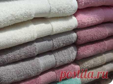 Ваши полотенца грубые после стирки? С помощью этой уловки они снова станут мягкими и шелковистыми!