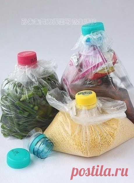 Удобный способ хранения продуктов