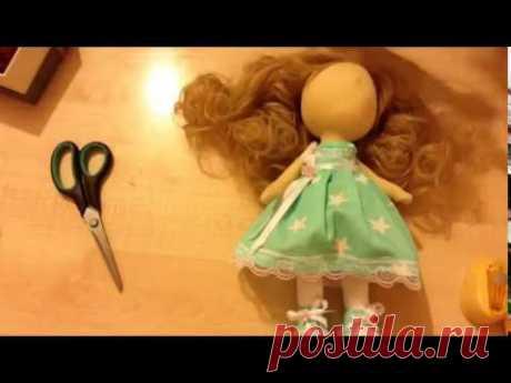 (9) Делаем обувь для куклы - YouTube