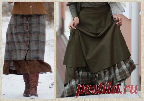 Зимняя юбка. Фото. Идеи для вдохновения