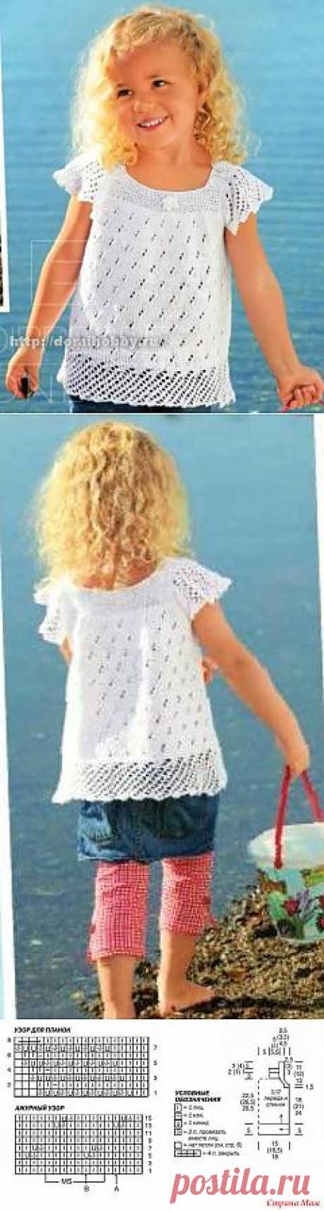 Летняя кофточка для девочки спицами.: Дневник пользователя значит это я - Страна Мам