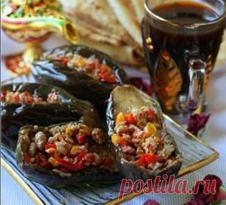 Макдус. Острые квашеные баклажаны с ореховой начинкой, пошаговый рецепт с фото