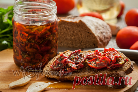 Итальянские вяленые томаты на зиму - намного вкуснее и дешевле чем в магазине, но без консервантов и вредных добавок | WOWcook- САМЫЕ ВКУСНЫЕ РЕЦЕПТЫ | Яндекс Дзен