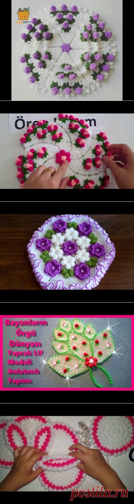 Dört Boyutlu Çiçek Lifi Anlatıml ı baştan sona - YouTube
