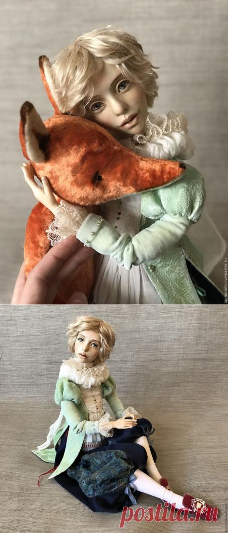 Маленький Принц. 63 см. Коллекционная интерьерная будуарная кукла – купить в интернет-магазине на Ярмарке Мастеров с доставкой - BRXK9RU   Москва