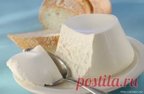 Cottage cheese of mascarpone from a smetanka, very tasty