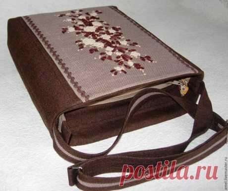"""Купить Сумка """"Чайная церемония"""" - коричневый, сумка ручной работы, сумка женская, сумка"""