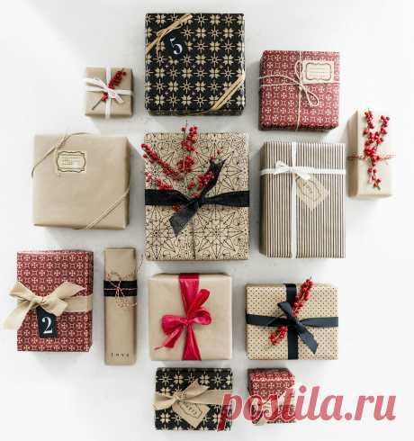 Как красиво упаковать подарок: 22 идеи — Мастер-классы на BurdaStyle.ru