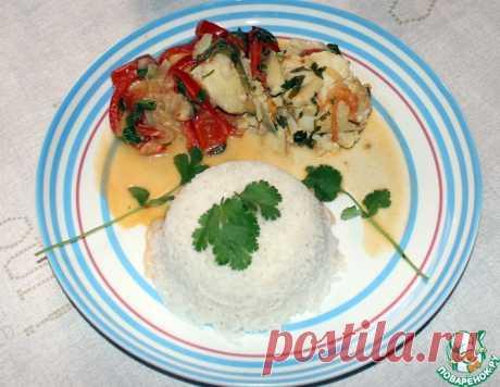 Рыбная мукека с рисом – кулинарный рецепт
