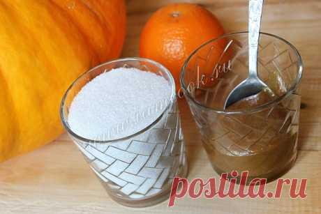 Варенье из тыквы с апельсином в мультиварке, рецепт с фото.