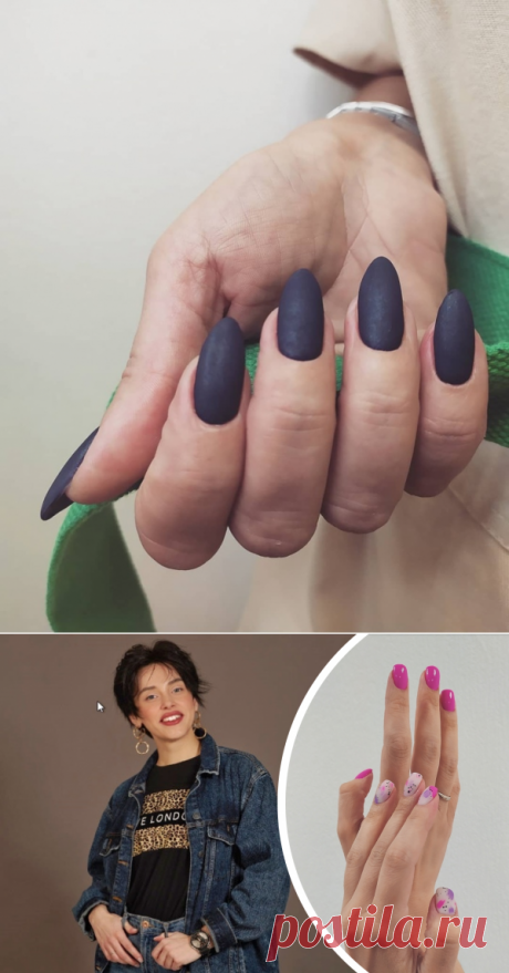 Какой маникюр в моде осенью 2020 года и как восстановить свои ногти?   Новости NN.RU