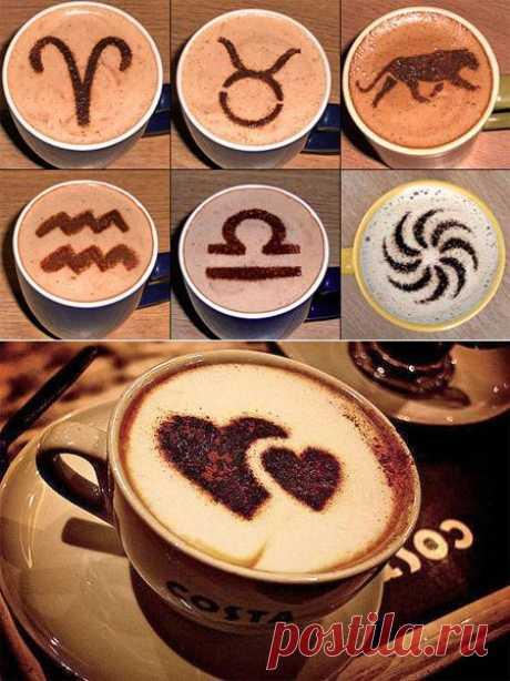 Трафареты для кофе: простой и красивый способ украшения | Все о кофе