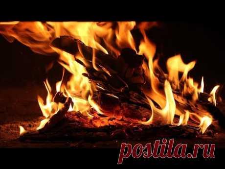 🔥 Потрескивание огня РУССКОЙ ПЕЧИ 🔥 Волшебный огонь для медитации для снятия стресса для сна. Огонь.