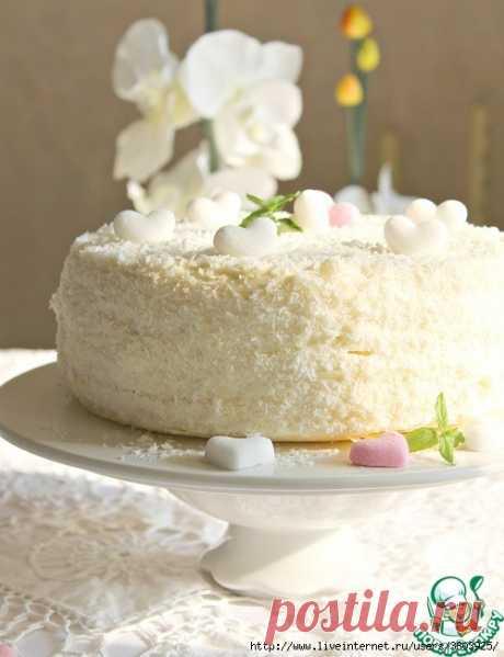 """Нежнейше-красивый торт """"Сплошная интрига"""" - вкус божественный... хочется ухватить еще кусочек!"""
