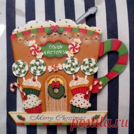 adorno navideño para la cocina