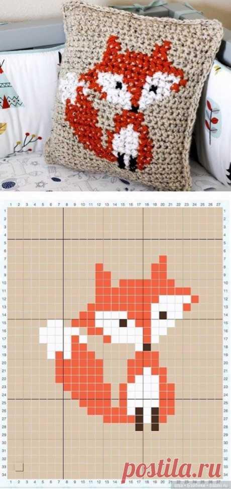 Лисички, схемы для вязания и вышивки / Вязание для кукол / Бэйбики. Куклы фото. Одежда для кукол