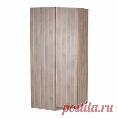 ТОДАЛЕН Гардероб угловой - серо-коричневый - IKEA