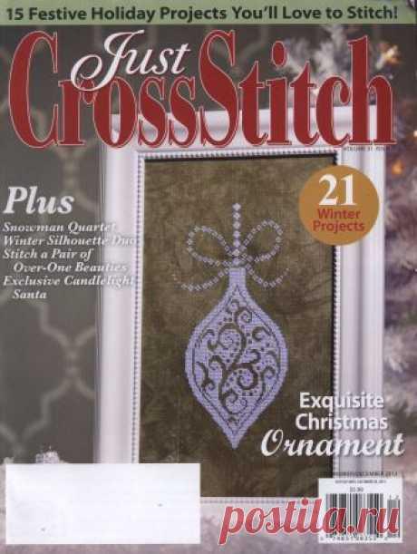 """Вышивка крестом """"Just Cross Stitch"""" - запись пользователя verav (Вера) в сообществе Вышивка в категории Вышивка крестом Американское издание """"Annie's"""" предлагает к просмотру журналы по вышивке крестом. Большое разнообразие идей. Много авторских интересных работ."""