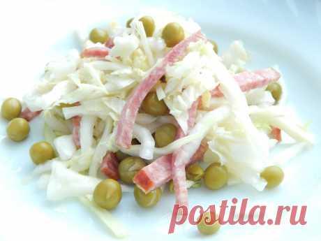 """Рецепт салата из капусты """"Мозайка"""" - My izumrud"""