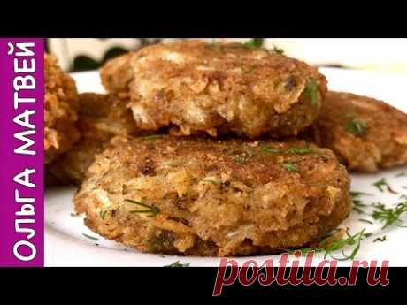 Fast Cutlets from Cabbage, Very Juicy and Tasty | Lenten Cabbage Cutlets, English Subtitles