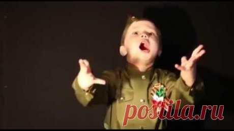 4-летний мальчик покорил Сеть песней «Священная война!