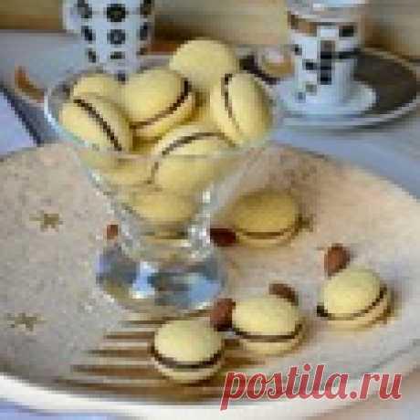 """Итальянское печенье """"Поцелуи дамы"""" Кулинарный рецепт"""