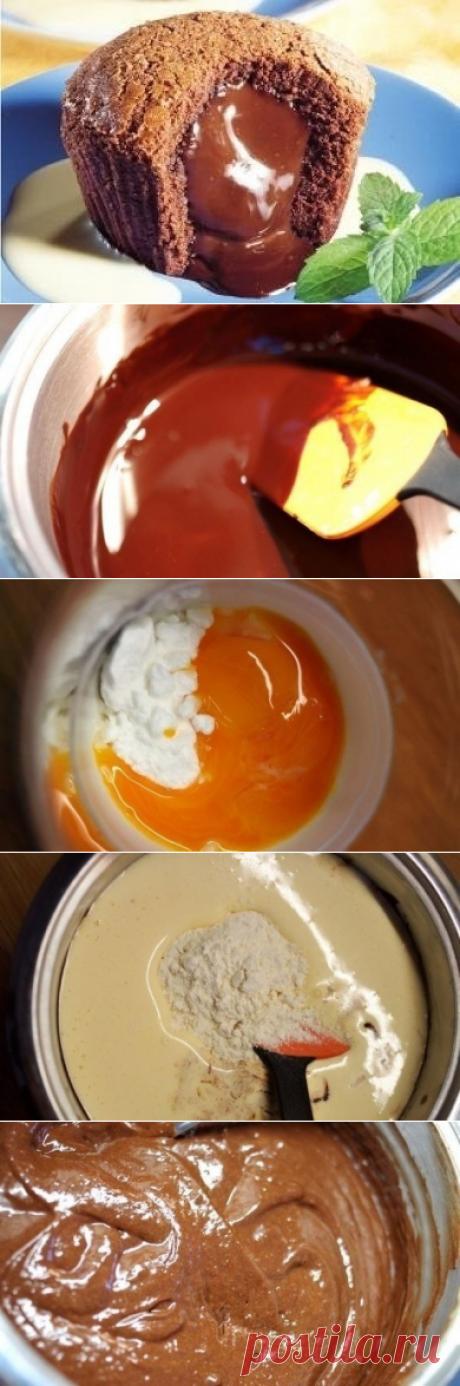 Как приготовить фондан шоколадный - рецепт, ингредиенты и фотографии