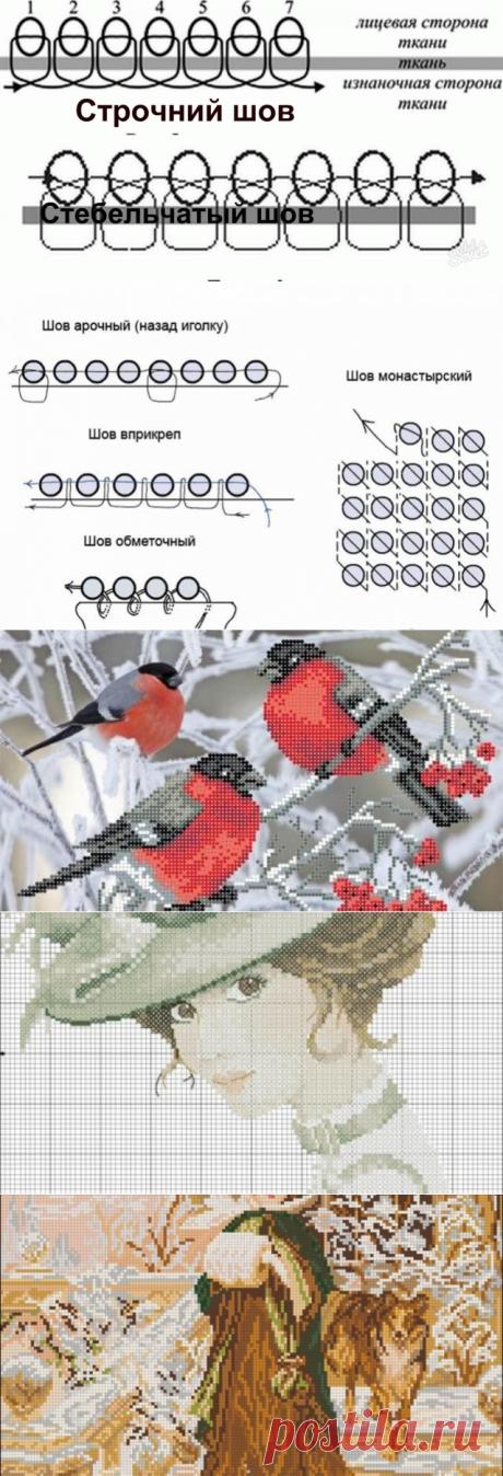 Картинки и схемы для вышивки бисером: 35 простых идей для начинающих