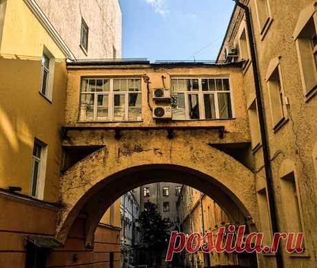 Показываю, где находится тайный московский дворик в 500 метрах от Кремля | Архитектурный Чайник | Яндекс Дзен