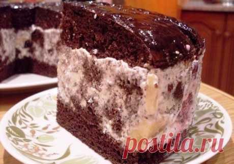 """Торт """"Африканская ромашка"""" Всем любителям, простых, несложных тортов этот рецепт понравится, этот торт не очень популярный, (пока еще) но те, кто его пробовал приготовить хоть раз, хочется повторить снова и снова...."""