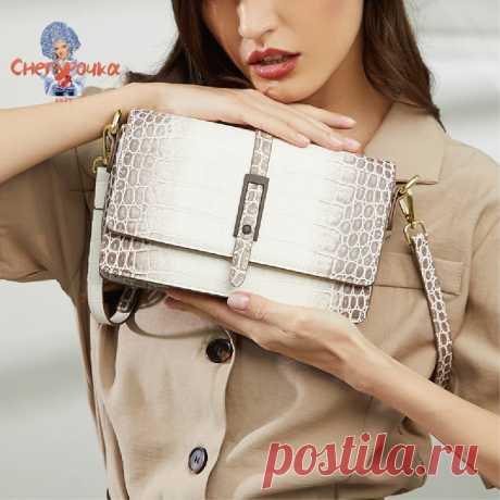 Кожаная сумка на плечо из гималайской кожи, Новинка лета 2021, классический дизайн, модная роскошная