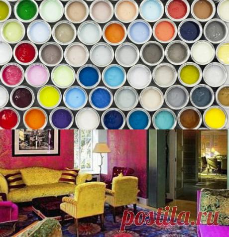 Чем покрасить стены? Виды красок, их особенности и предназначение