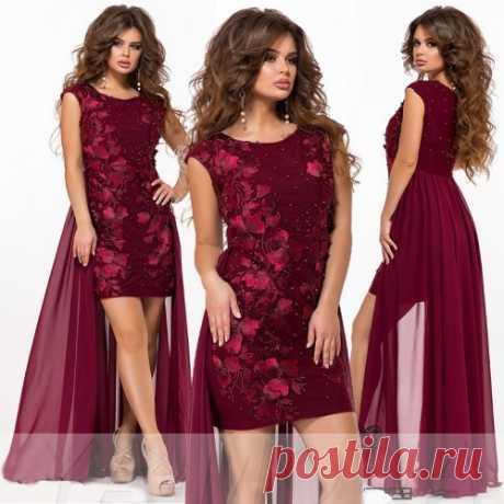 Мини платье с шлейфом : большой выбор шикарных платьев от 2500 руб. Доставка. Скидки.