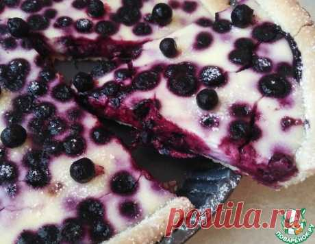 Ягодный пирог в сметанной заливке – кулинарный рецепт