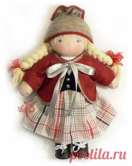 Знакомимся с вальдорфской куклой / Вальдорфская кукла / PassionForum - мастер-классы по рукоделию