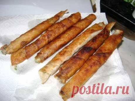 Как приготовить закусочные рулетики из армянского лаваша - рецепт, ингридиенты и фотографии