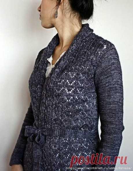 Кардиган Darling Emma от Joji Locatelli (Вязание спицами) | Журнал Вдохновение Рукодельницы