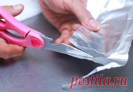 7 идей применения фольги в хозяйстве, которые стоит взять на вооружение
