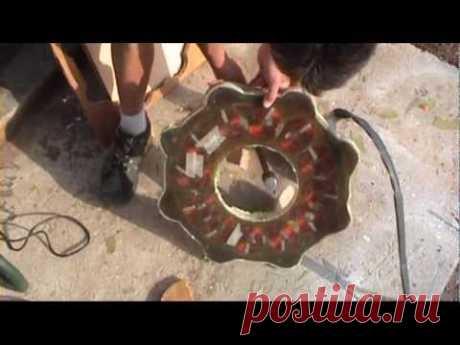 ALTERNADOR  AXIAL DE 16 POLOS 24V 2500W