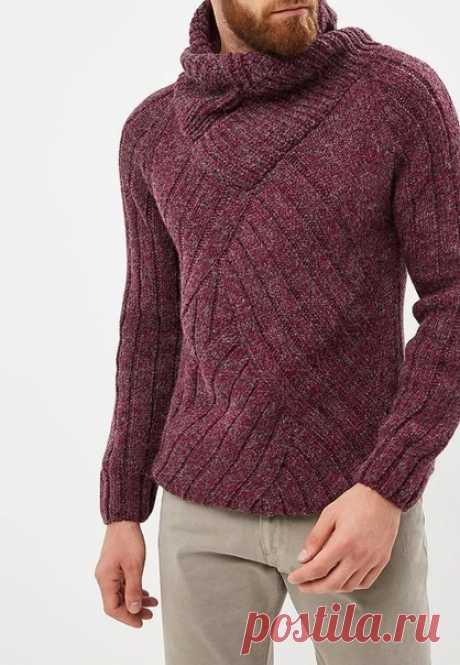 Уважаемые мастерицы! Нужен ваш совет. Планирую связать такой свитер. Никогда не делала такой ворот, остальные детали сложности не представляют. Дайте подсказочку, буду искренне благодарна!