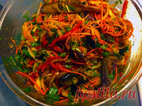 Проверенный временем корейский рецепт заготовки баклажанов. Просто и вкусно! | DiDinfo | Яндекс Дзен