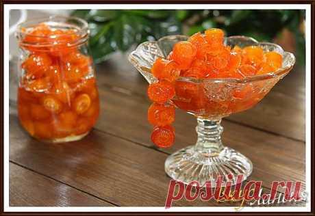 Варенье из апельсиновых корочек..