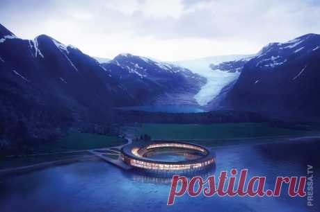Необычный отель за полярный кругом . Чёрт побери
